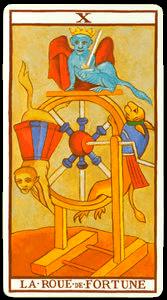 carta rueda de la fortuna