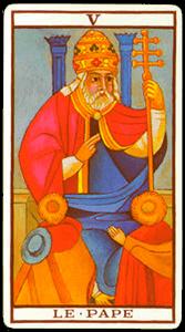 carta sumo sacerdote